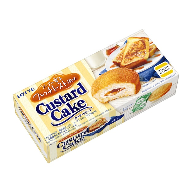 Product Detail - LOTTE Maple Toast Custard Pies 6pc - image 0