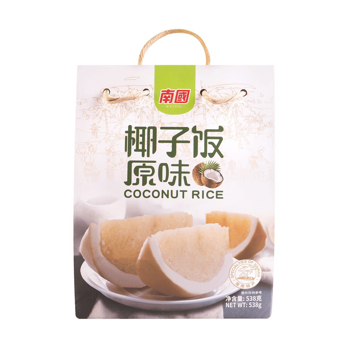 Yamibuy.com:Customer reviews:NANGUO Coconut Rice 538g