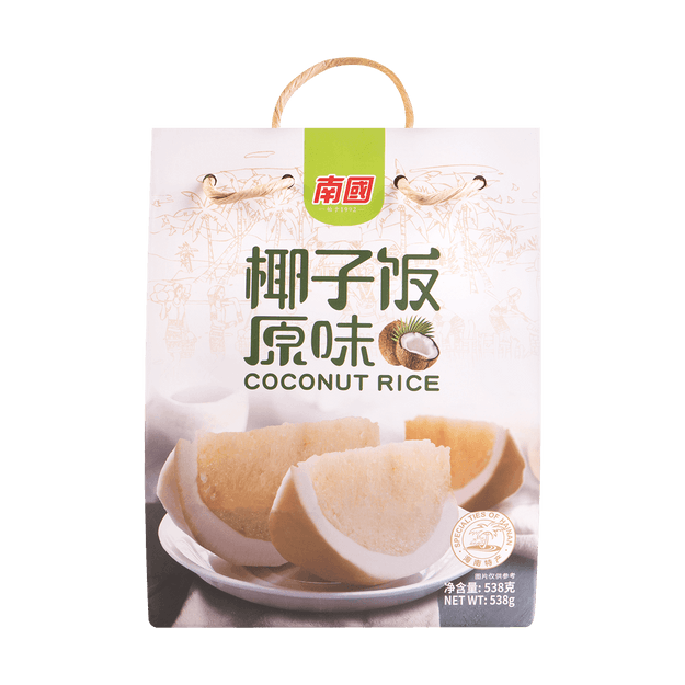 Product Detail - NANGUO Coconut Rice 538g - image 0