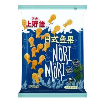 OISHI上好佳  日式鱼果 海苔味 50g