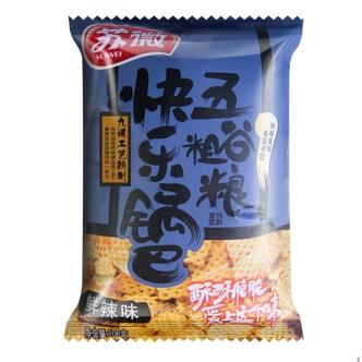 苏微  五谷粗粮快乐锅巴  鲜辣味 108g