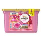 PG Japan Laundry Wash Detergent Gel Ball Elegant Blossom  Peony (Includes Fabric Softener) 18tablets