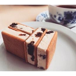 DHL直发【日本直邮】北海道名菓六花亭葡萄干奶油夹心饼干 5枚装