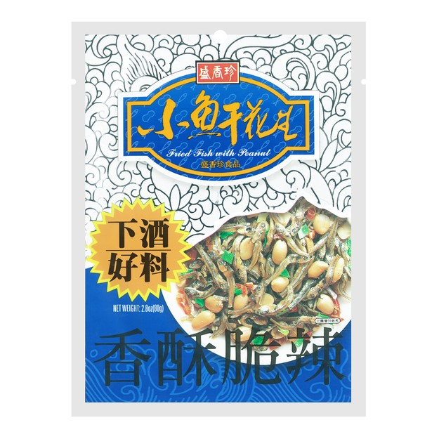 商品详情 - 台湾盛香珍  小鱼干花生 80g - image  0