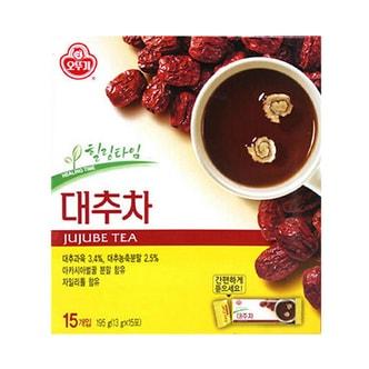 韩国OTTOGI不倒翁 补血养颜红枣茶 15份入 195g