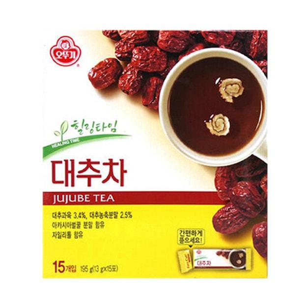 商品详情 - 韩国OTTOGI不倒翁 补血养颜红枣茶 15份入 195g - image  0