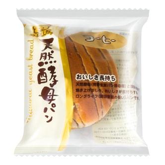 日本D-PLUS 天然酵母持久保鲜面包 咖啡味 80g