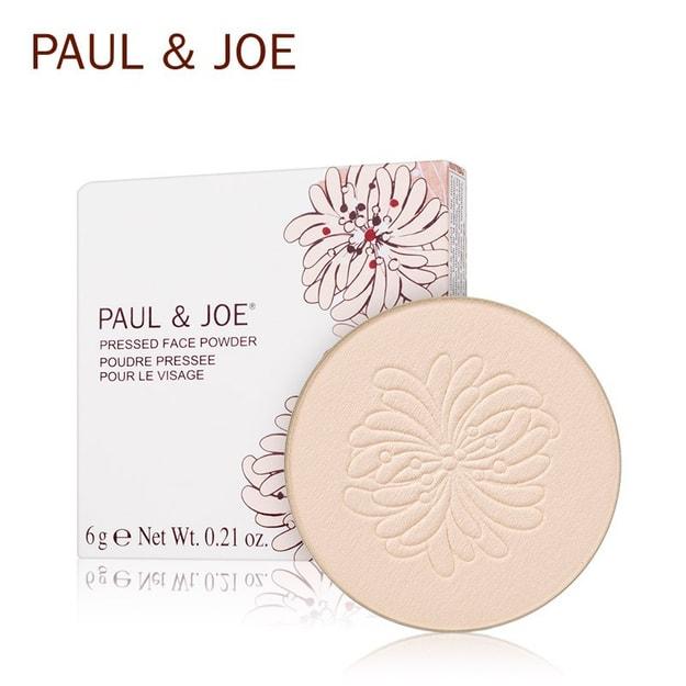 Product Detail - PAUL&JOE Pressed Face Powder  SPF15 PA++ 01 Refill - image 0