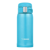 ZOJIRUSHI One Touch Stainless Steel Vacuum Thermal Bottle Ocean Blue 360ml SM-SC36AV