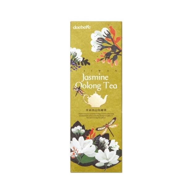商品详情 - 台湾DAEBETE茶米茶 窨茶茶包系列 茉莉高山乌龙茶 10包入 70g - image  0