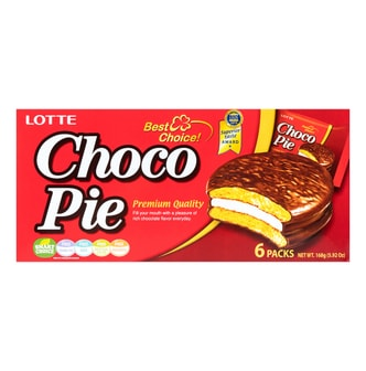 LOTTE Choco Pie 6packs 168g