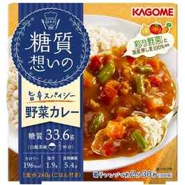 KAGOME Diet food vegetable curry 240g