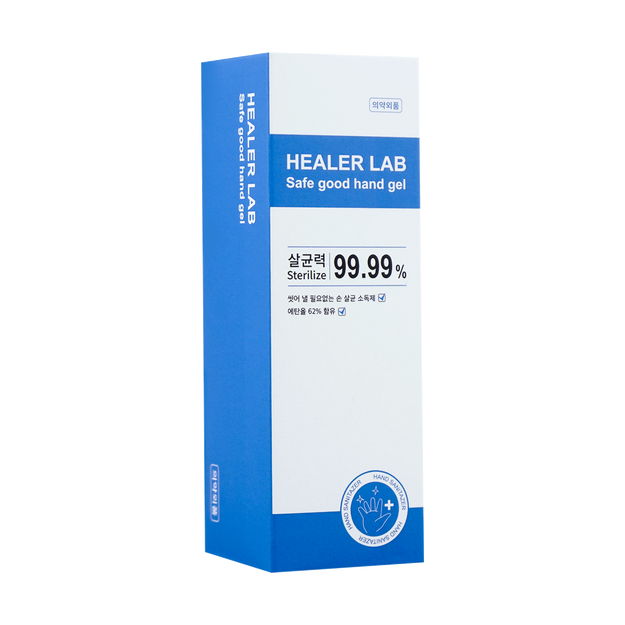 Product Detail - [Alcohol Spray] Healer Lab Safe good hand gel with 62% alcohol 80ml - image 0