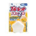 日本KOBAYASHI小林制药 马桶水箱清洁除菌芳香剂 星星造型 无色 葡萄柚香 120g