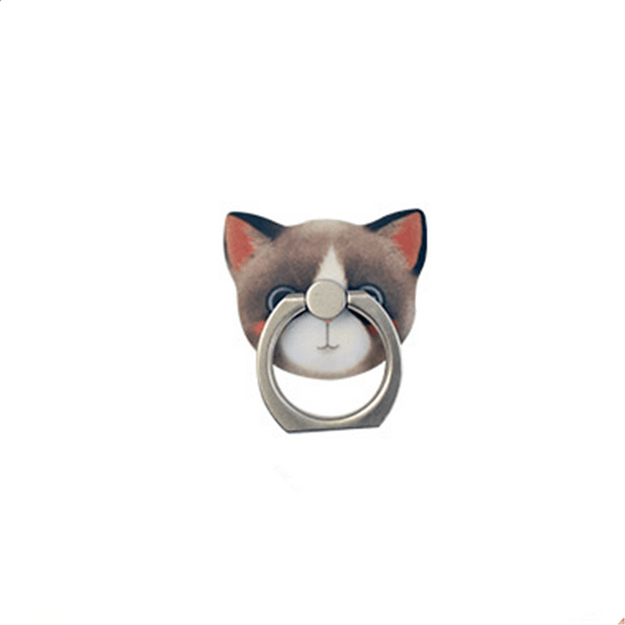 Product Detail - MAOXIN Original Art Illustrations Cute Cat Series Phone Ring Holder Dora  1PC - image 0