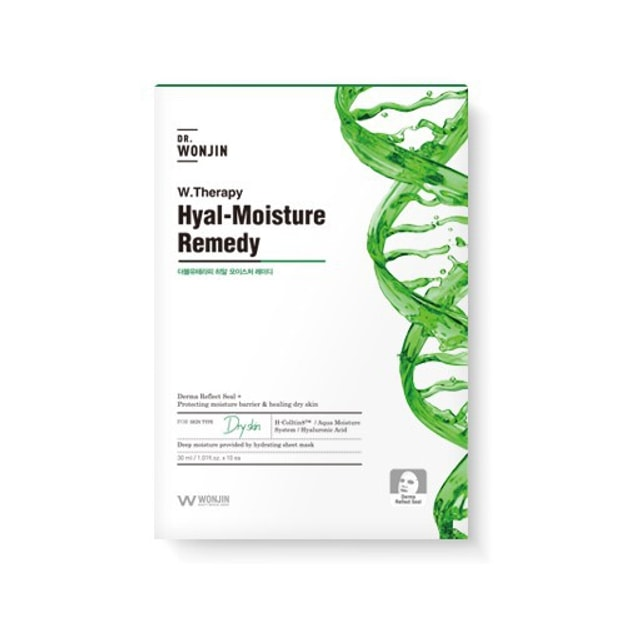 Product Detail - WONJIN EFFECT W.Therapy Hyal-Moisture Remedy Mask 1pc - image 0