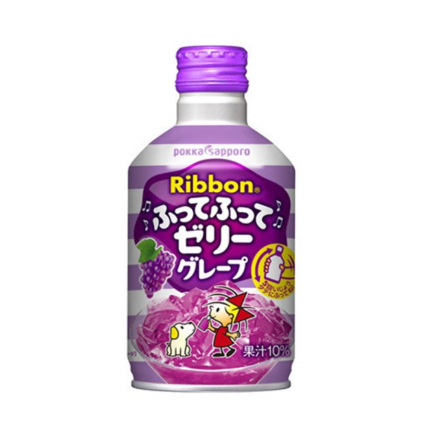 POKKA SAPPORO RIBBON Grape Juice Jelly 275ml