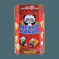 日本MEIJI明治 熊猫夹心饼干 巧克力味 60g 包装随机发