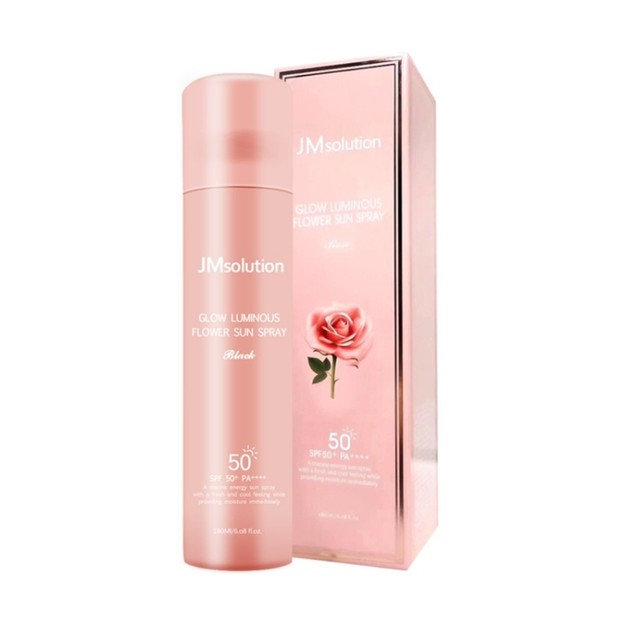 Product Detail - JM SOLUTION Glow Luminous Flower Sun Spray SPF50+ PA++++ 180ml - image 0