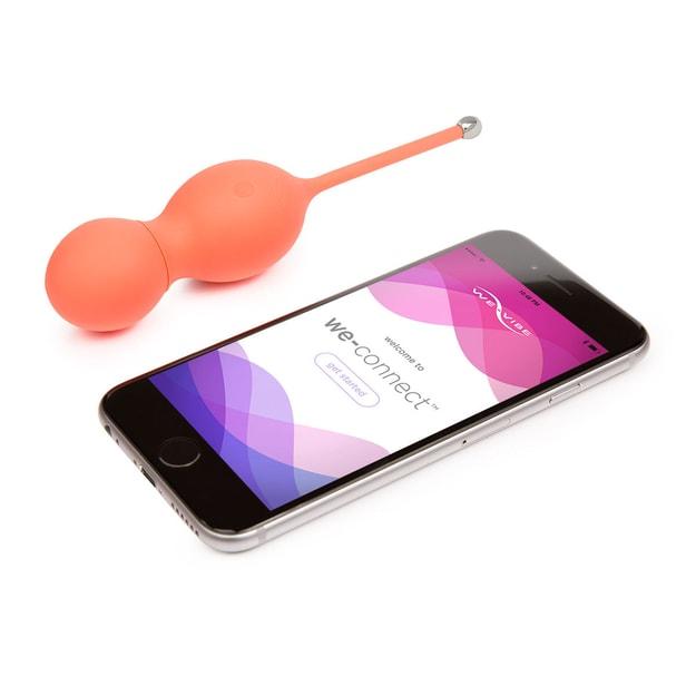 商品详情 - 加拿大WE VIBE Bloom女用跳蛋紧致锻炼app控制 橙色 - image  0