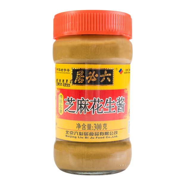 LIUBIJU Mixed Sesame Paste 300g