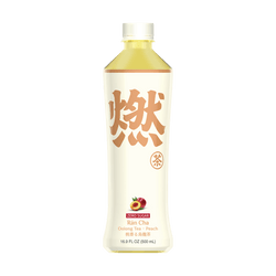 Genki Forest Sugar Free Peach Oolong Tea 500ml