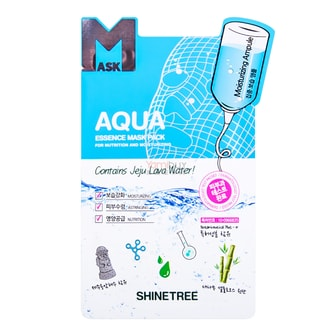 SHINE TREE Aqua Essence Mask 1sheet