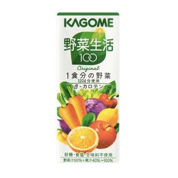 KAGOME Vegetable Juice 200g