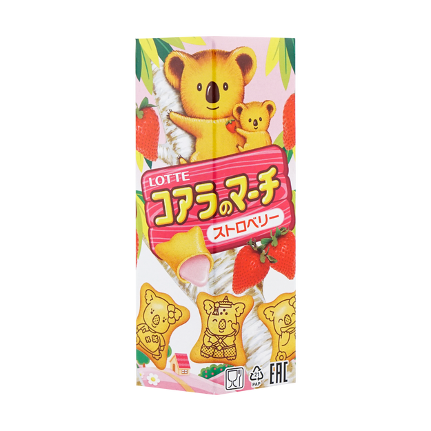 Product Detail - LOTTE Koala\'s March Strawberry 37g - image 0