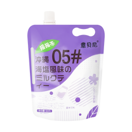 意贝尼 爆摇奶茶 冲绳海盐味 60g
