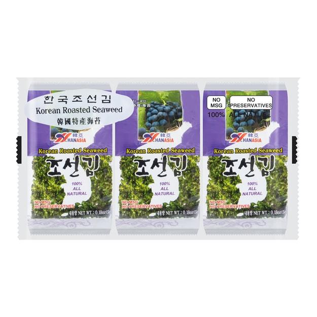 商品详情 - 韩国HAN ASIA韩亚 香脆海苔 3包入 15g - image  0