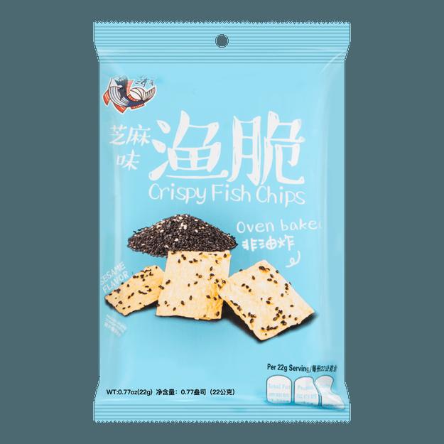 商品详情 - 台湾北海安 渔脆 芝麻味 22g - image  0