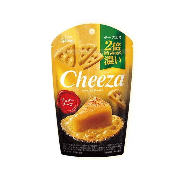 商品详情 - 【日本直邮】GLICO格力高 奶酪芝士三角薄脆三角饼干 双倍芝士味 40g - image  0