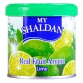 日本MY SHALDAN 汽车室内真正水果香气除臭剂 青柠 80g