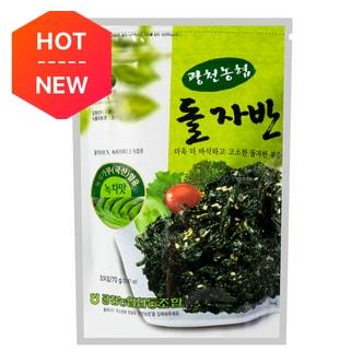HAITAI Roasted Green Tea Seaweed 70g