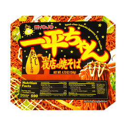 Ippei-chan Yakisoba Japanese Style Noodles with Mustard Mayonnaise 134g   EXP: 05/03/2021