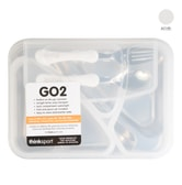 Thinksport GO2 Container (White)