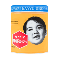 KAWAI Kanyu Drop Chewable Vitamin A&D 300 Counts 255g