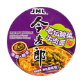 JINMAILANG Instant Noodle Artificial Beef Flavor & Sour Pickled Cabbage 120g