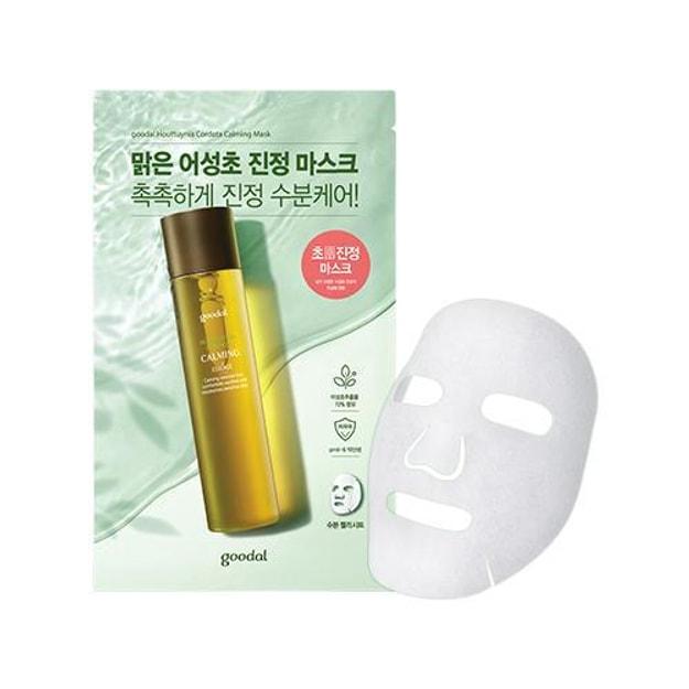 Product Detail - GOODAL Clear Houttuynia Cordata Calming Mask 5pcs - image  0
