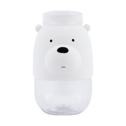 Miniso We Bare Bears- Tritan Water Bottle 380ml (Ice Bear)