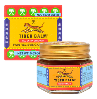 Tiger Balm Pain Relieving Ointment-Red Extra Strength 18g