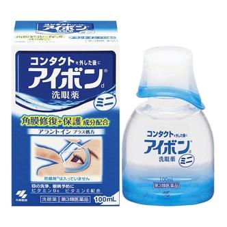 日本小林制药 角膜保护洗眼液 100ml 清洁止痒预防缓解眼疲劳 景甜推荐