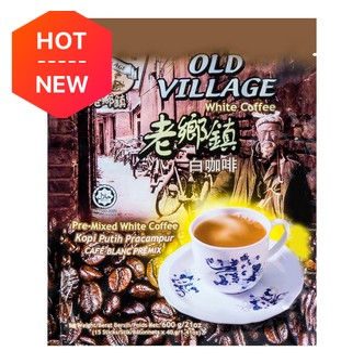 马来西亚老乡镇 三合一白咖啡 15包入