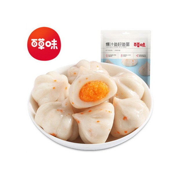 Product Detail - BE&CHERRY Fish Ball Original Flavor 108g - image 0