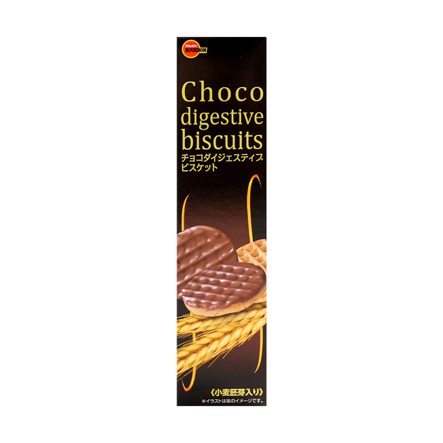 Product Detail - BOURBON Choco Digestive Biscuits 108g - image 0