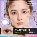 华晨宇同款 Glam up -3.00度日抛彩色美瞳 Starry Violet 星光紫 10片 预定3-5天日本直发