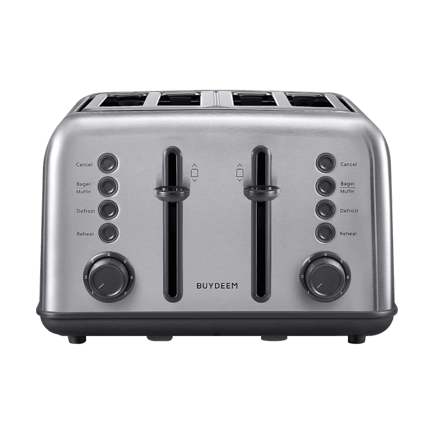 Product Detail - 4-Slice Teal Stainless Steel Toaster, DT-6B83S - image  0