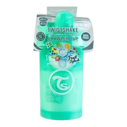 TWISTSHAKE Crawler Cup 8+ Months Baby 300ml Pastel Green