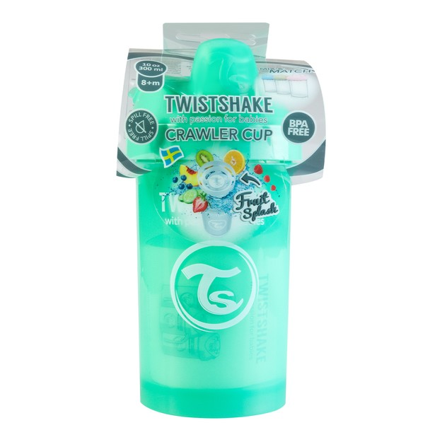 Product Detail - TWISTSHAKE Crawler Cup 8+ Months Baby 300ml Pastel Green - image 0